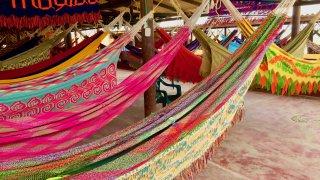 Les hamacs colorés des rancherias dans La Guajira