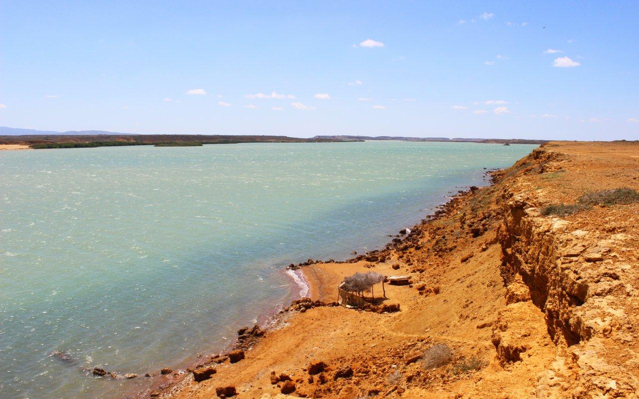 Plages désertique de la péninsule de La Guajira