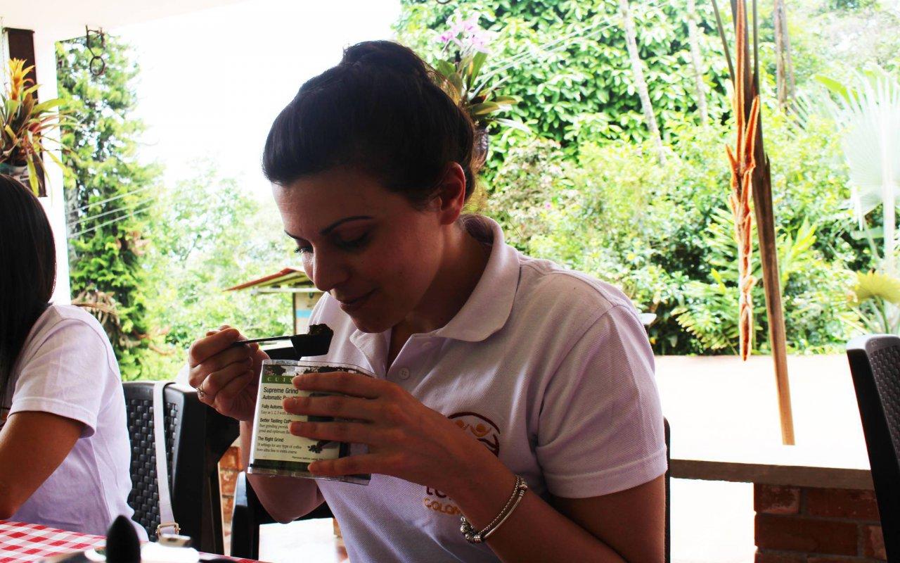 Arrivée de Mathilde en Colombie
