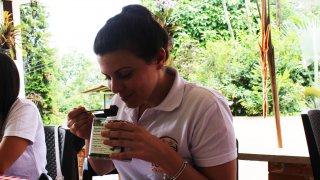 Arrivée de Mathilde chez Terra Colombia