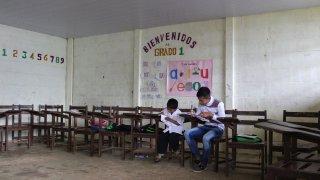 Une école en Amazonie