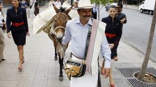 juan Valdez en déplacement au Chili