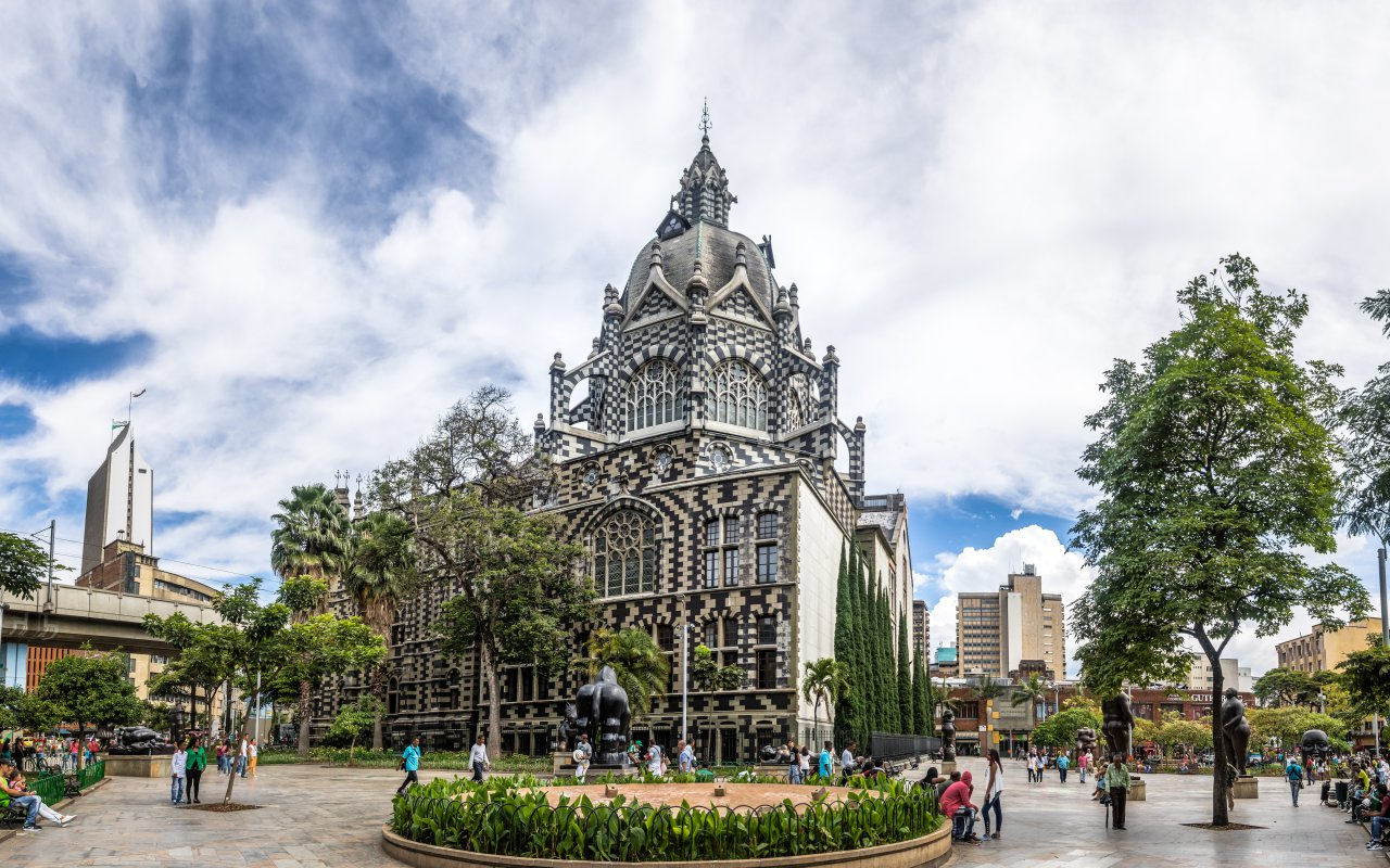 Plaza Botero à Medellin en Colombie