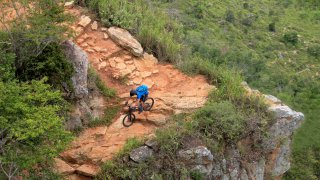 En vélo dans le Canyon du Chichamocha