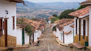 Barichara est une ville romantique en Colombie
