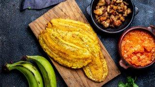 Le patacon, fait à base de bananes plantains