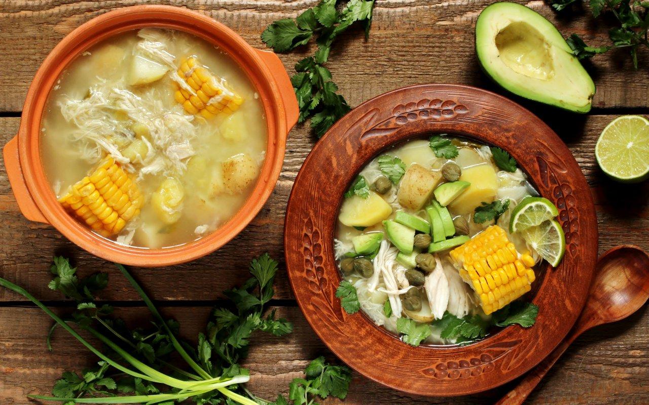 Recette colombienne de l'ajiaco