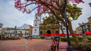 Panama la Vieja au Panama