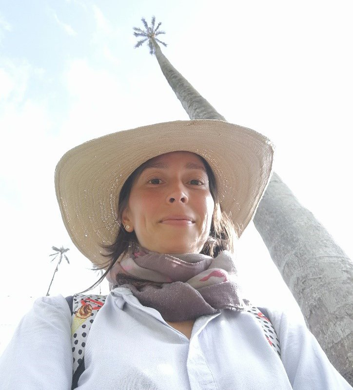 Ana Cristina, une des amies guides de Terra Colombia