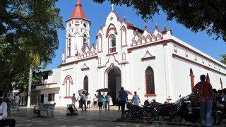 Eglise d'Aracataca en Colombie