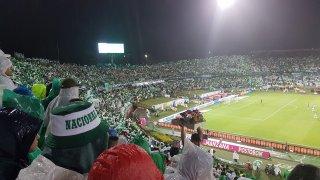 Match de l'Atletico nacional en Colombie