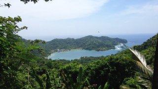 La Baie de Sapzurro dans le Darien