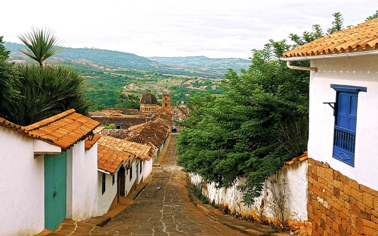 Barichara sur la route des Andes