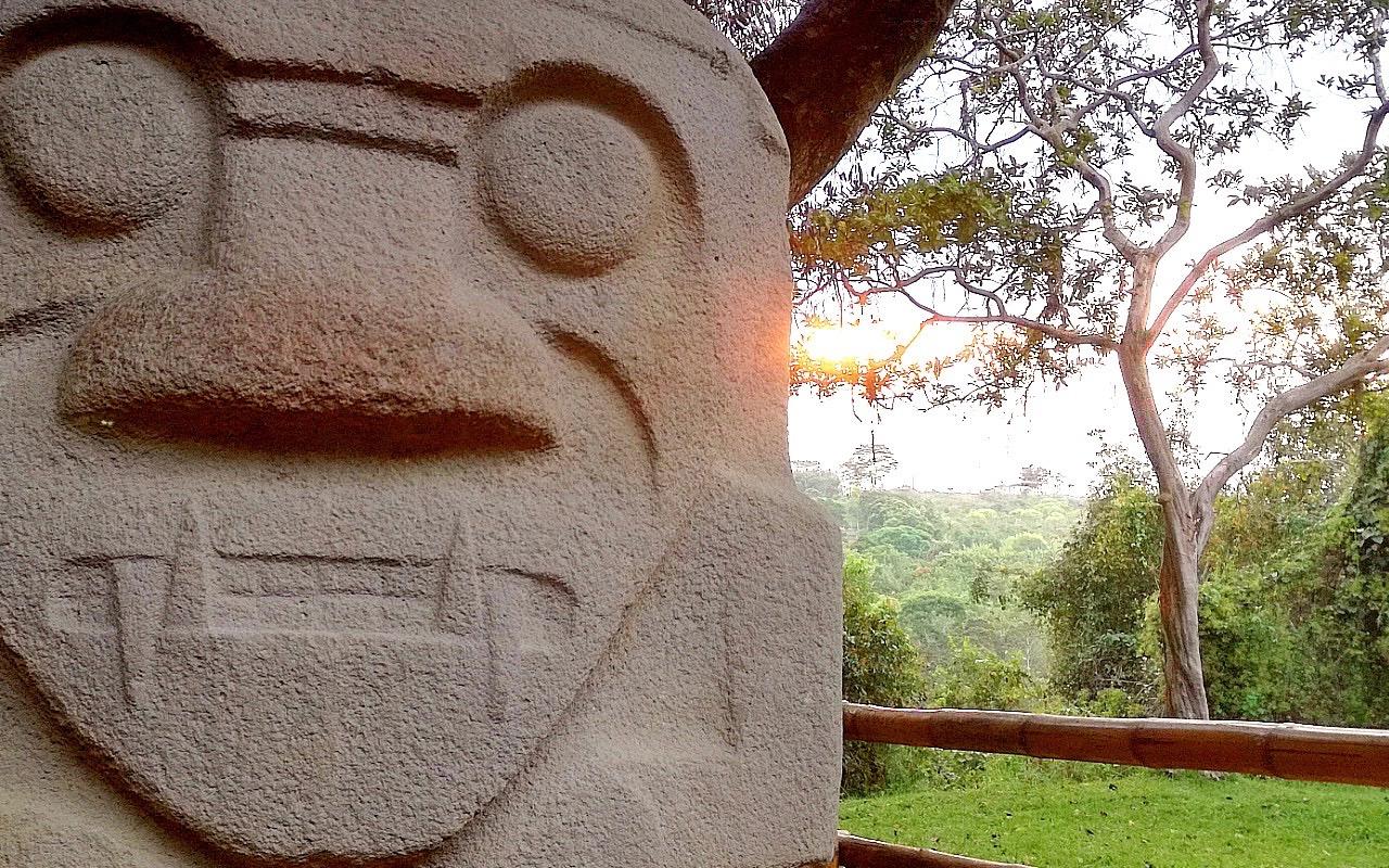 Les statues de San Augustin en Colombie