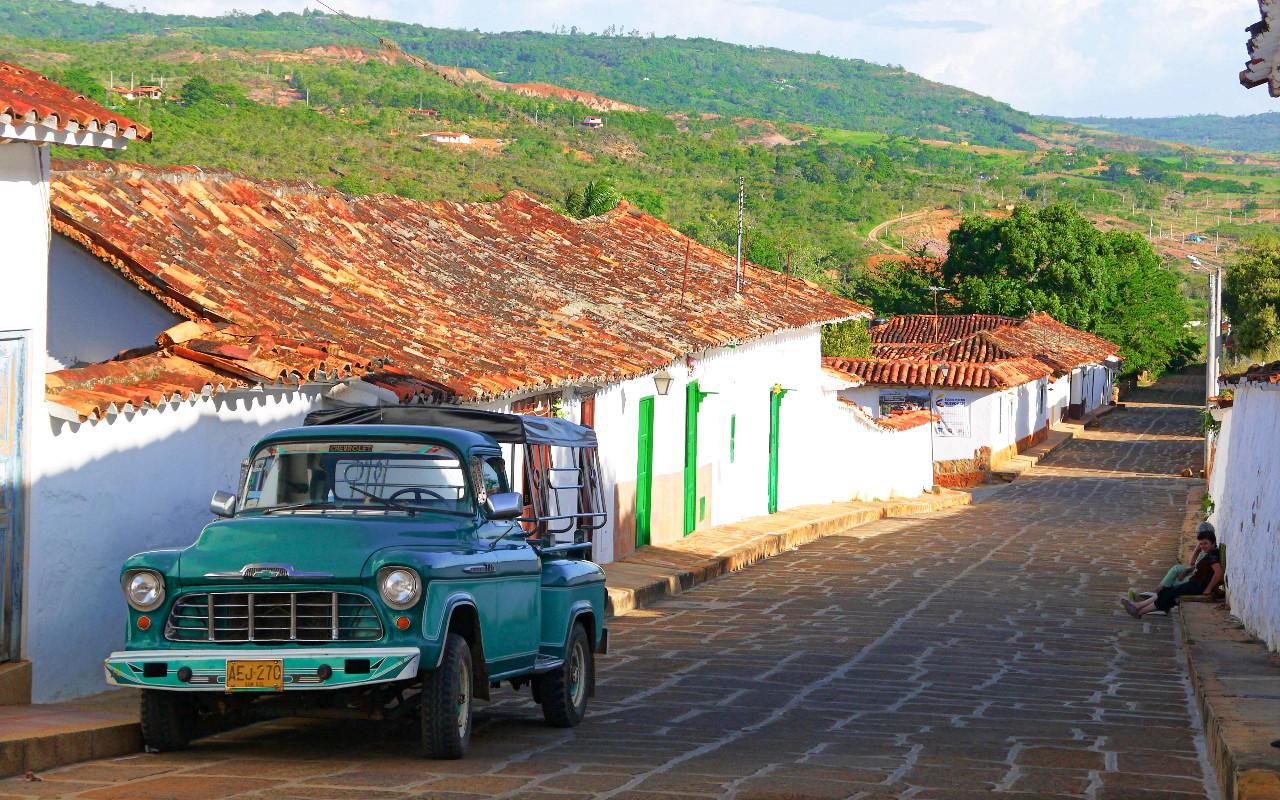 La Colombie par la route