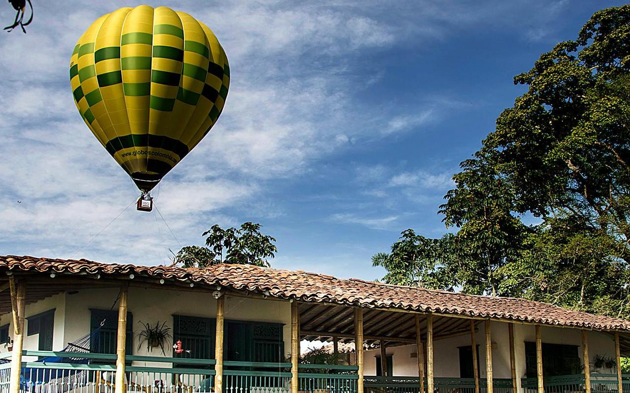 Hacienda de charme en Colombie