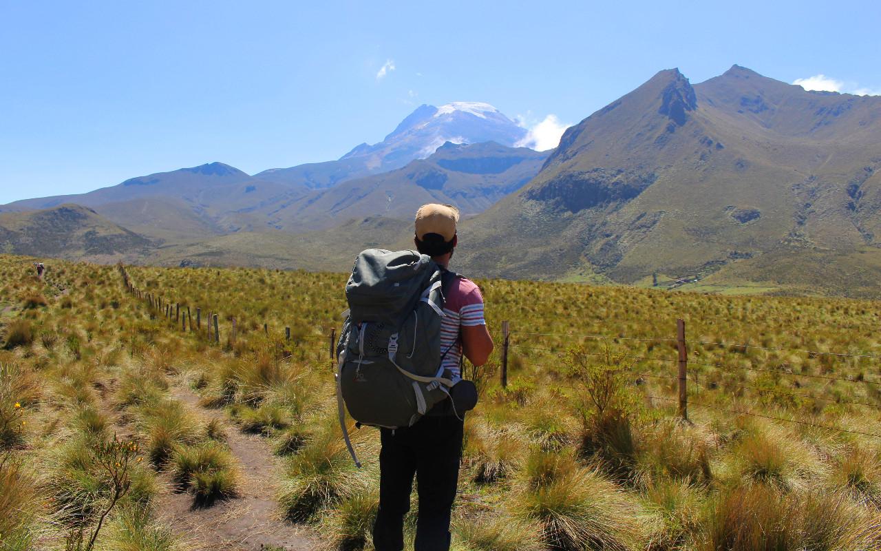 En trek en Colombie