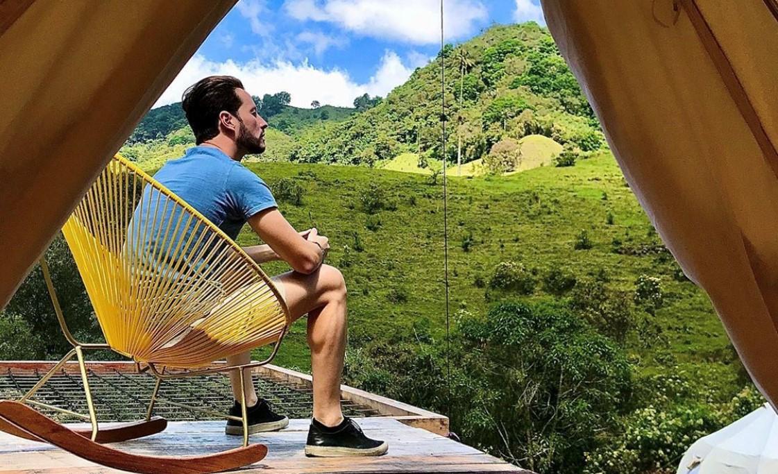 Glamping et voyage eco-responsable en Colombie