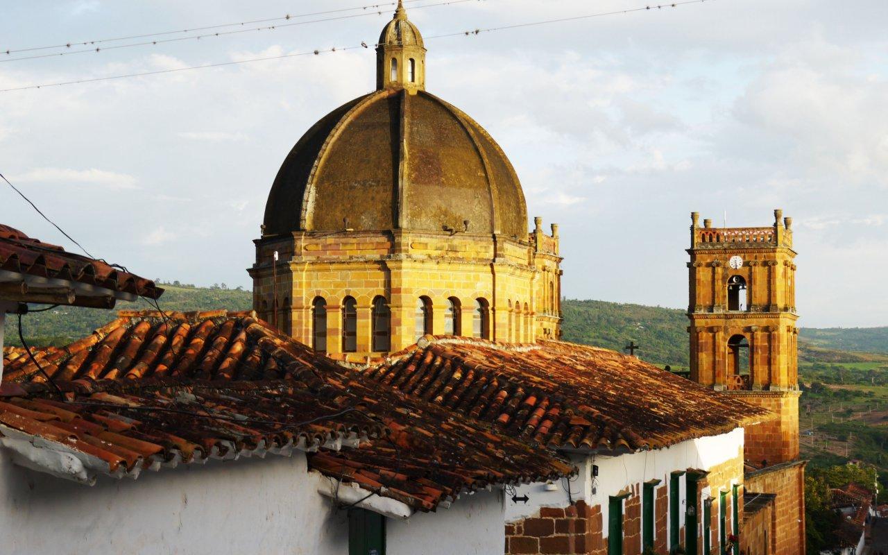 Village de Barichara en Colombie
