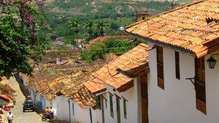 Le village de Barichara dans le Santander en Colombie