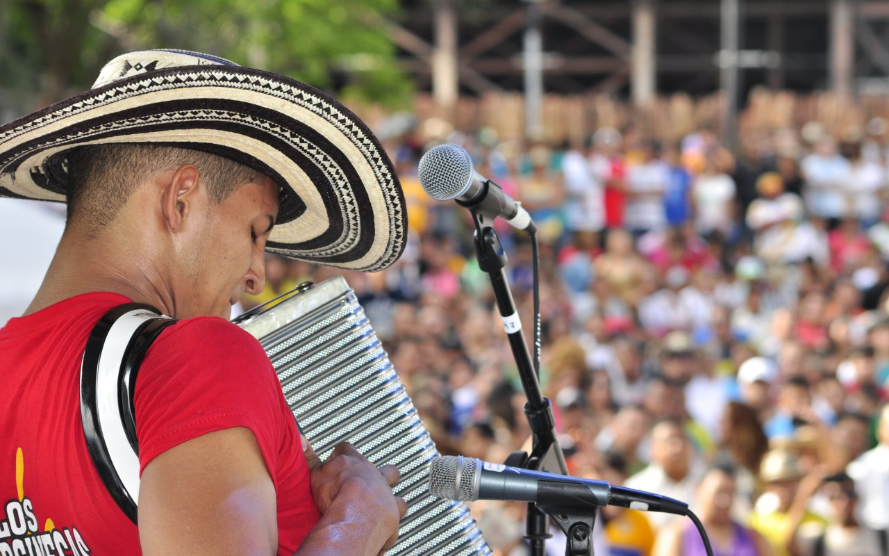 Accordéoniste de vallenato