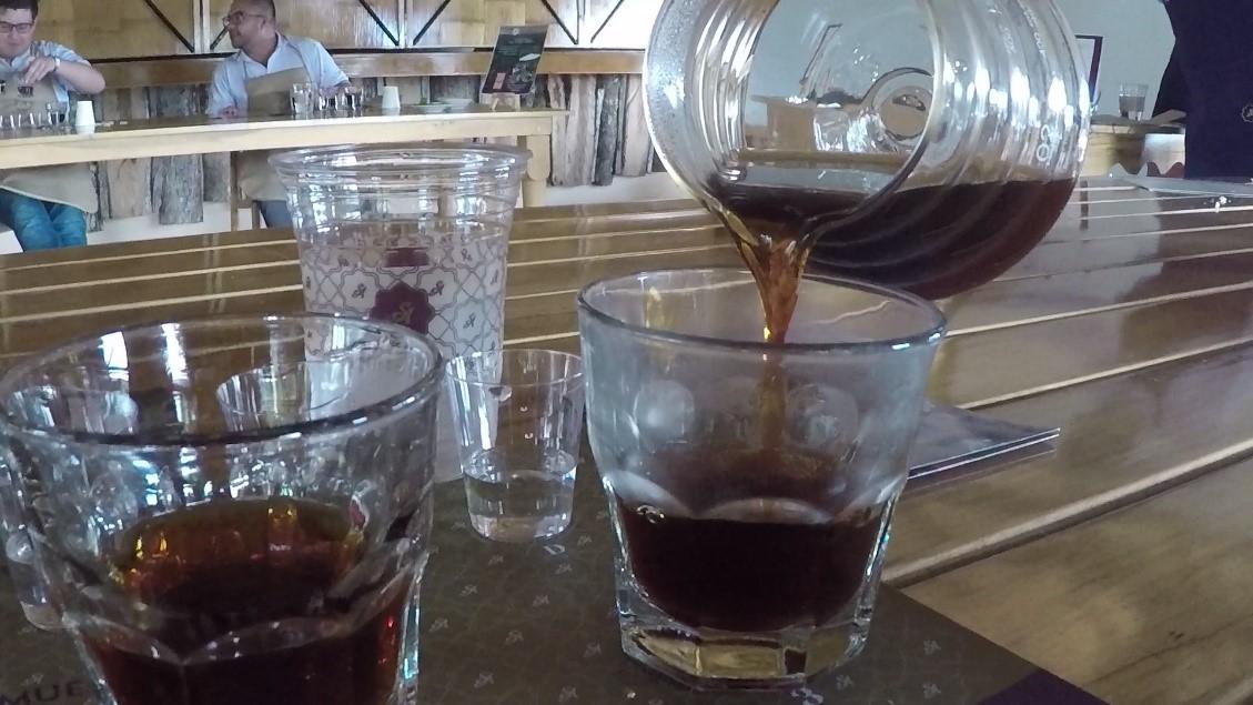 Dégustation de café San Alberto
