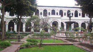 Couvent San Francisco à Lima au Pérou