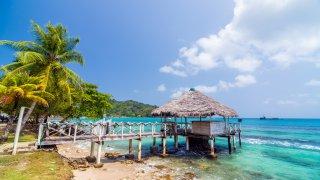 Le Darien offre un décor paradisiaque sur la cote caraibe