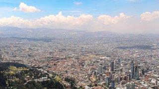 La ville de Bogota en Colombie