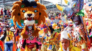 Carnaval de Barranquilla en Colombie