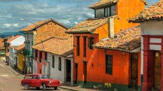 Quartier de la Candelaria à Bogota