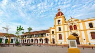 Eglise de Mompox en Colombie