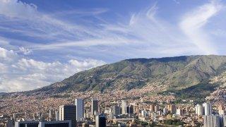 La ville de Medellin en Colombie