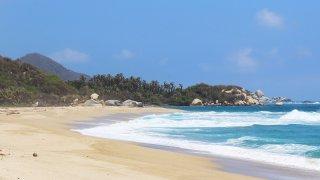 Les plages du parcs Tayrona en Colombie