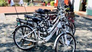 Balade en vélos électriques à Medellin