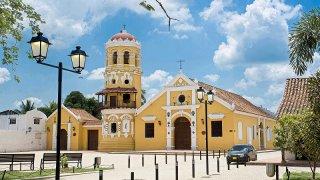 L'église de Mompox en Colombie