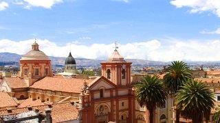 Voyage dans la ville de Bogota en colombie