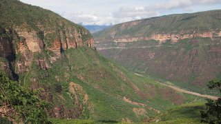 Le Canyon de Chicamocha en Colombie