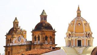 L'arrchitecture coloniale de Carthagène en Colombie