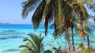 L'ile de Providencia dns les Caraïbes en Colombie