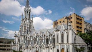L'église Ermita à Cali en Colombie