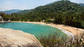 Parc National de Tayrona en Colombie