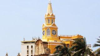 Eglise à Carthagène dans les Caraïbes