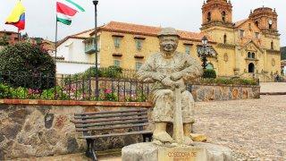 Le village de Mongui en Colombie