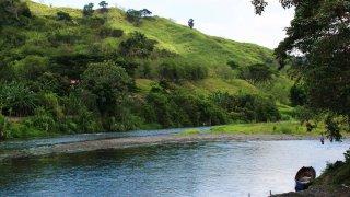 Le Rio la Vieja en Colombie