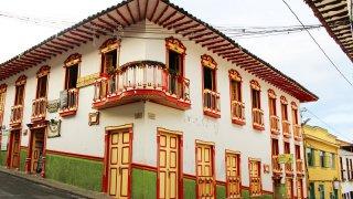 Le village de Salamina en Colombie