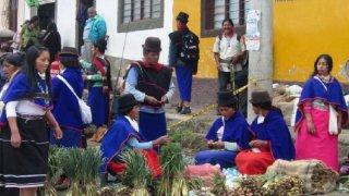Les Guambianos de Silvia en Colombie