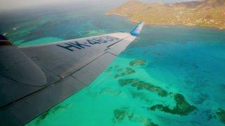 Prendre l'avion pour l'ile de Providencia en Colombie