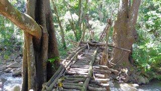 Randonnée à Bonda près de Santa Marta en Colombie