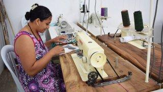 Atelier de couture dans la guajira